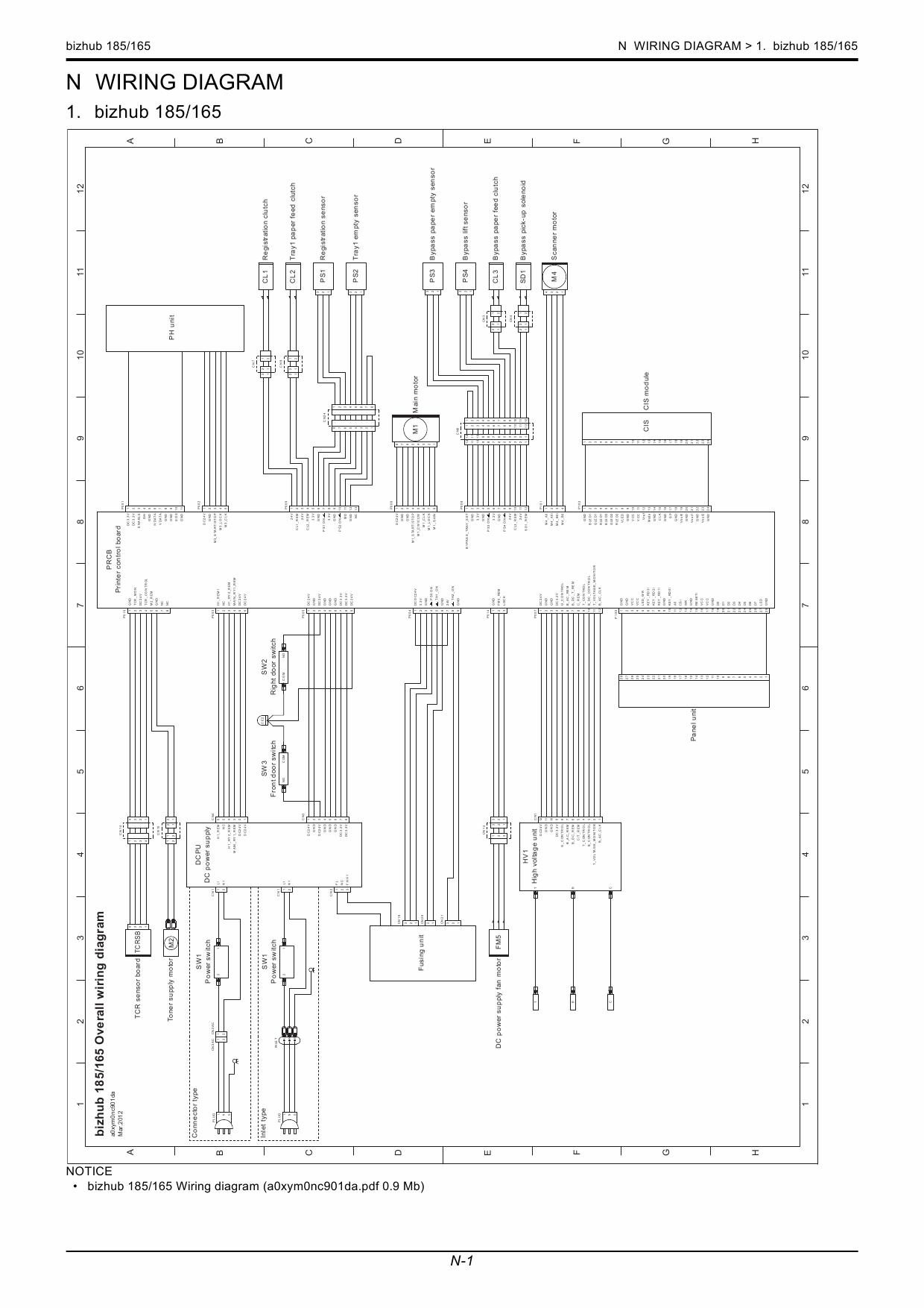 konica minolta bizhub 165 185 service manual Bizhub C360 bizhub 185 service manual pdf